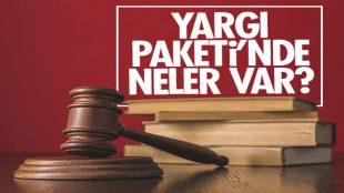 Birinci Yargı Reformu Paketi Hakkında